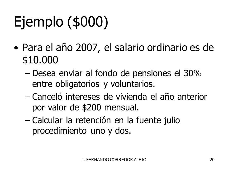 J. FERNANDO CORREDOR ALEJO