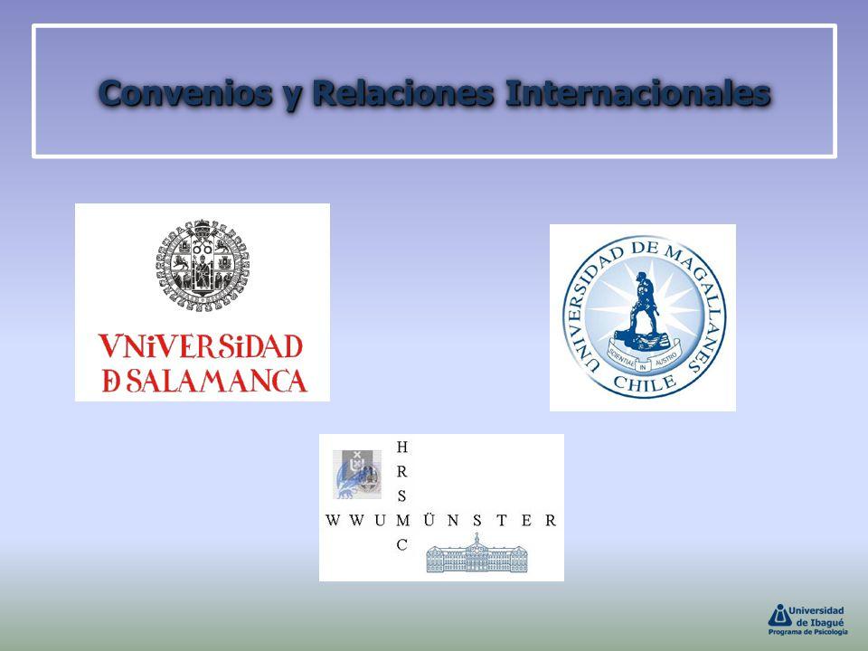 Convenios y Relaciones Internacionales