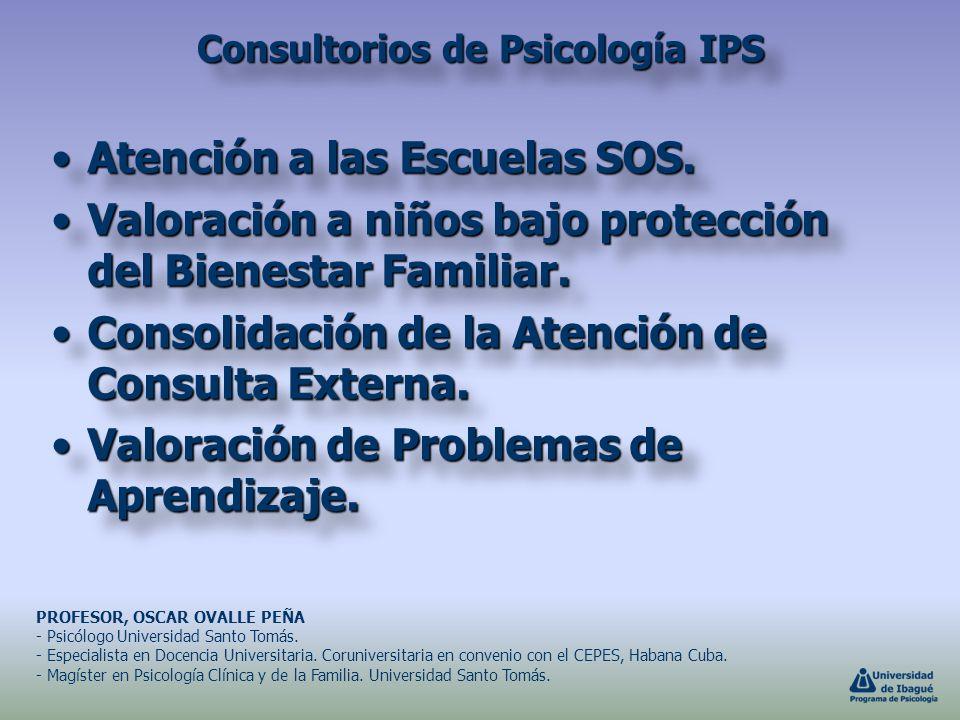 Consultorios de Psicología IPS
