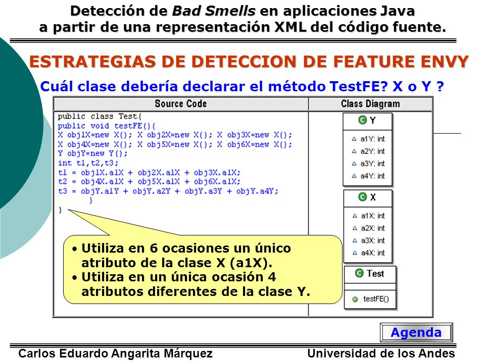ESTRATEGIAS DE DETECCION DE FEATURE ENVY