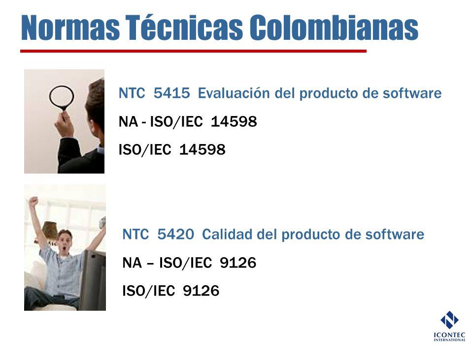 Normas Técnicas Colombianas