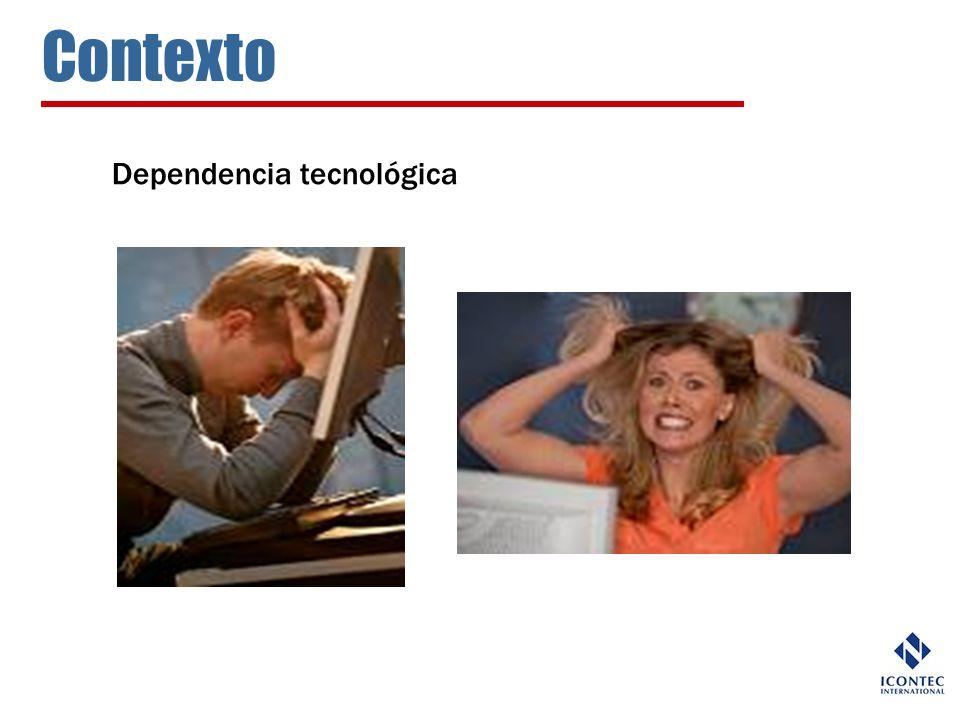 Contexto Dependencia tecnológica