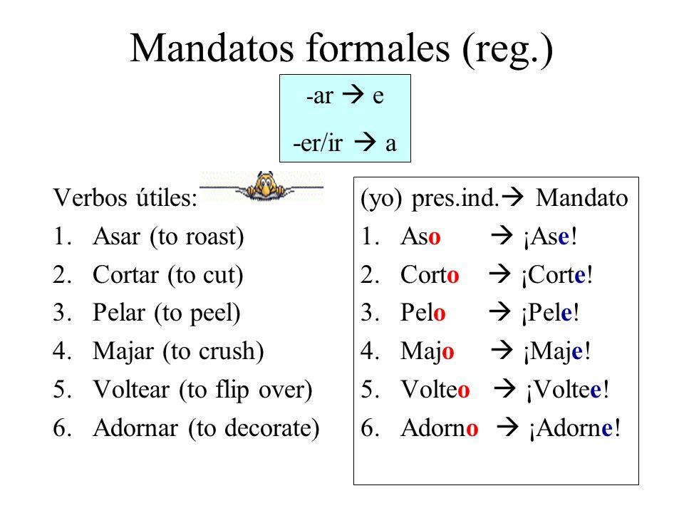 Mandatos formales (reg.)