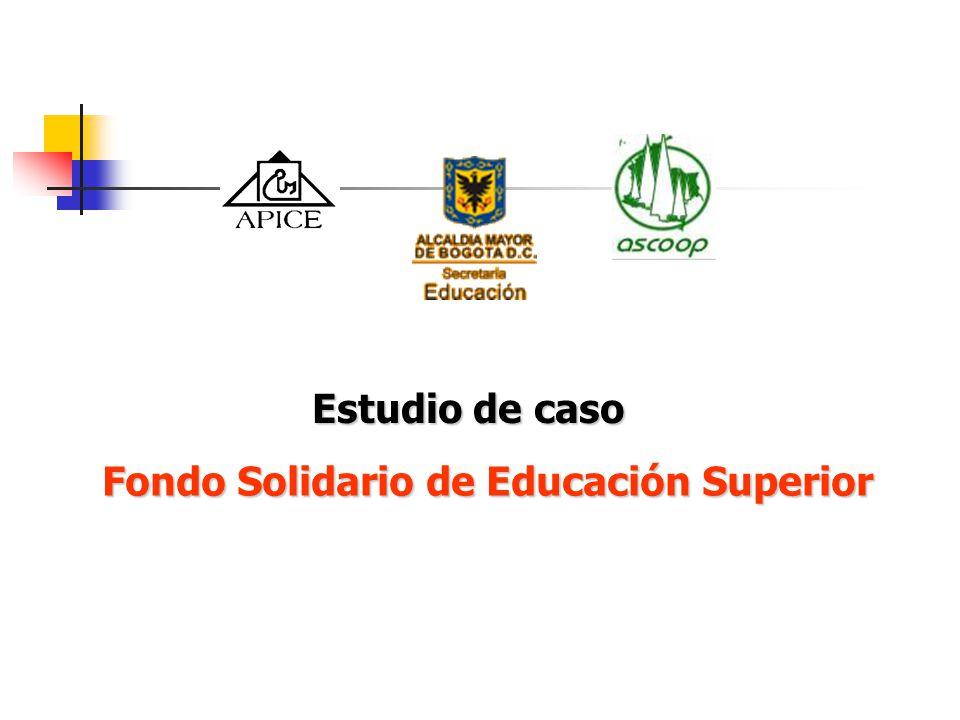 Fondo Solidario de Educación Superior