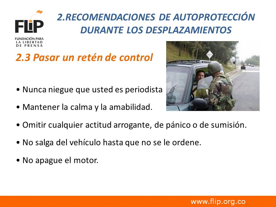 2.RECOMENDACIONES DE AUTOPROTECCIÓN DURANTE LOS DESPLAZAMIENTOS