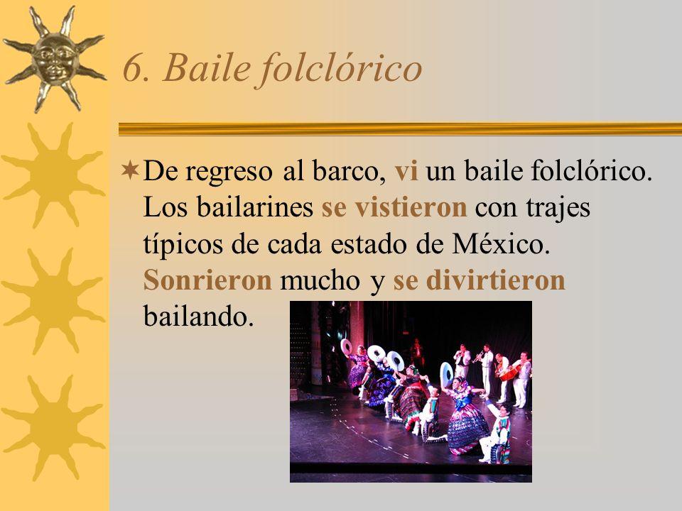 6. Baile folclórico