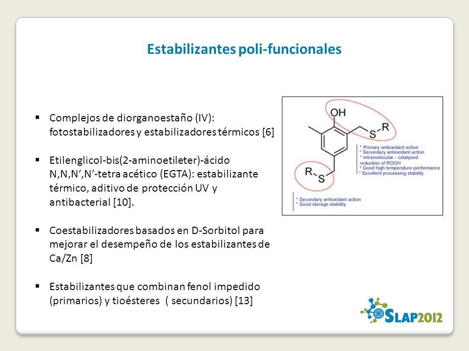 Estabilizantes poli-funcionales
