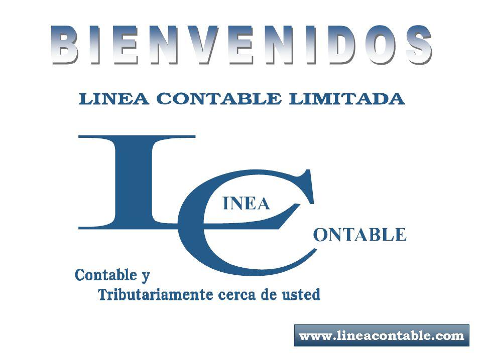 BIENVENIDOS www.lineacontable.com