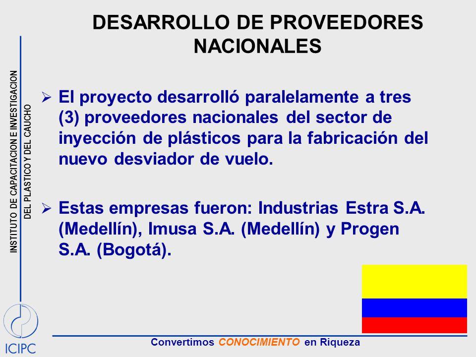 DESARROLLO DE PROVEEDORES NACIONALES