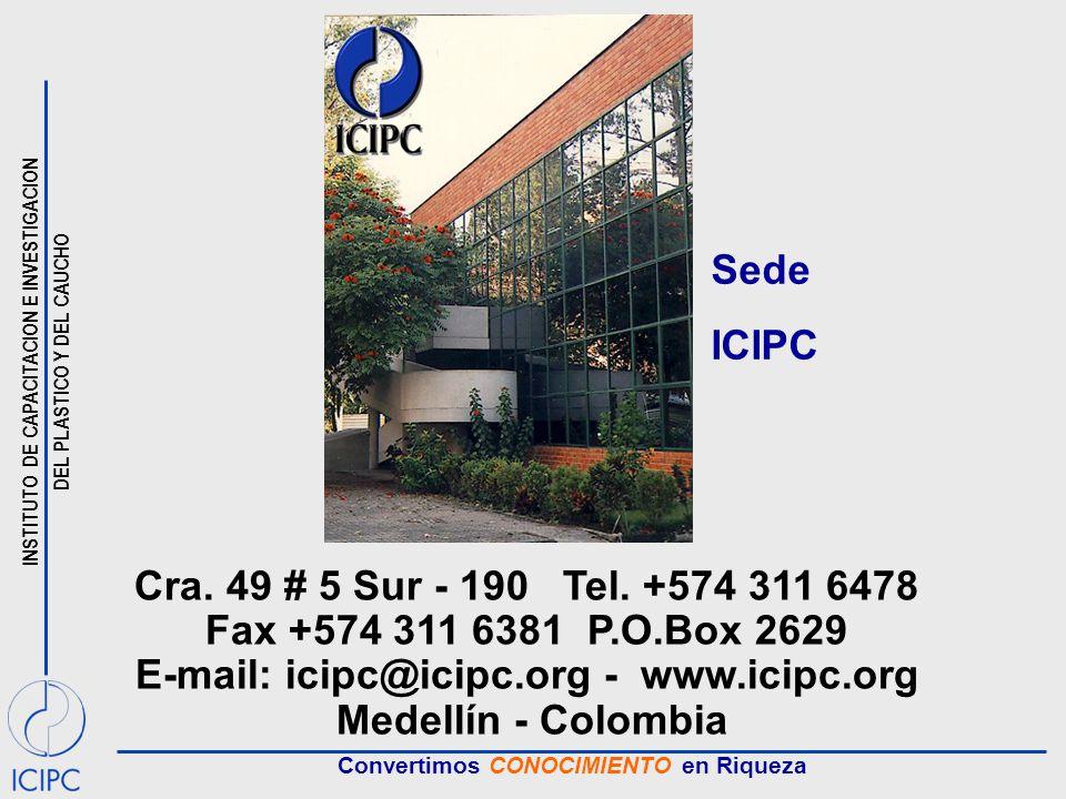 E-mail: icipc@icipc.org - www.icipc.org