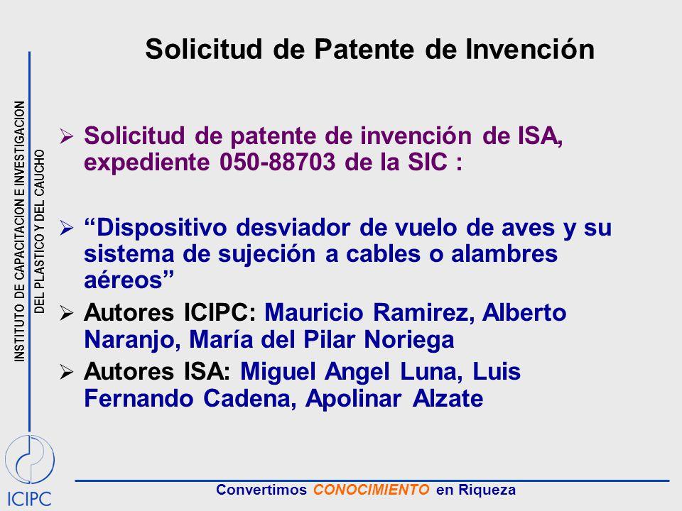 Solicitud de Patente de Invención