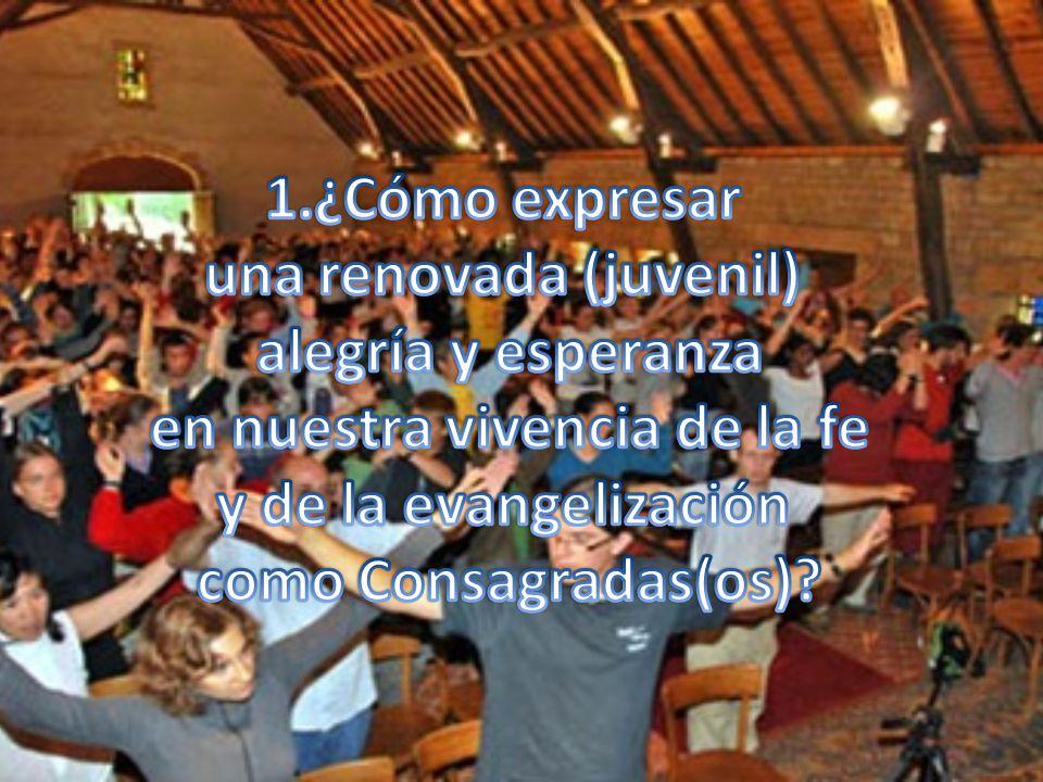 una renovada (juvenil) en nuestra vivencia de la fe