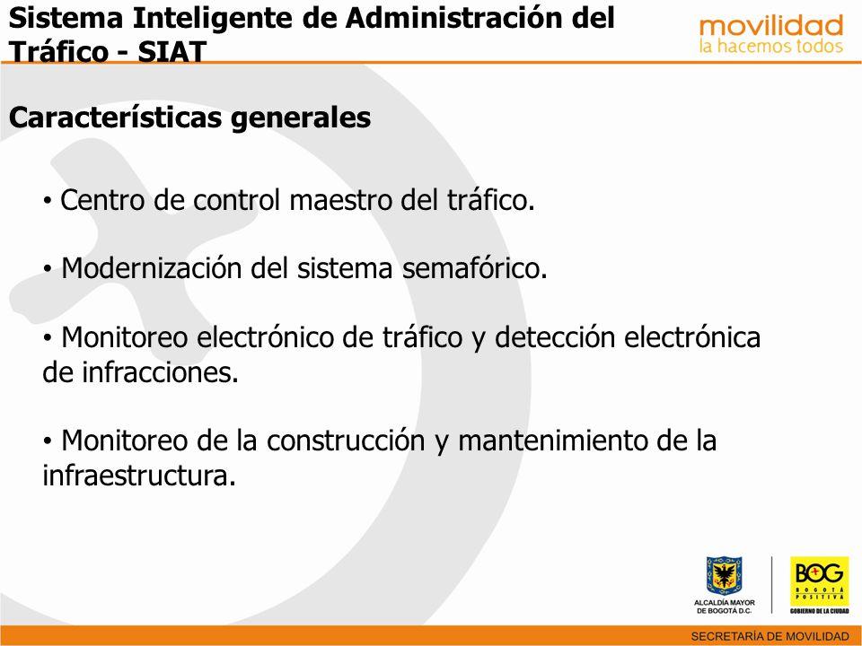 Sistema Inteligente de Administración del Tráfico - SIAT