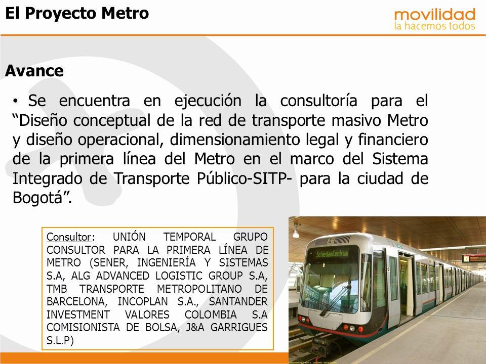 El Proyecto Metro Avance
