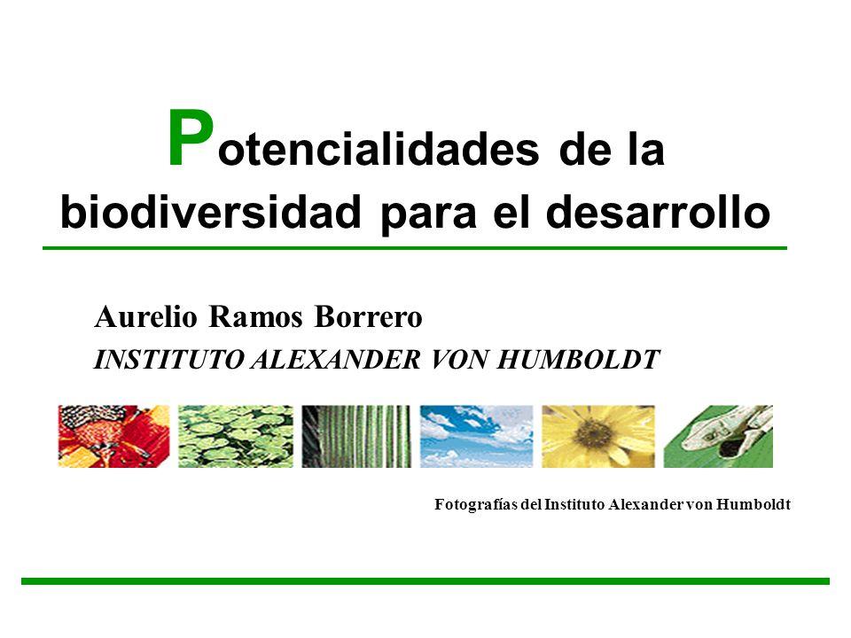 Potencialidades de la biodiversidad para el desarrollo