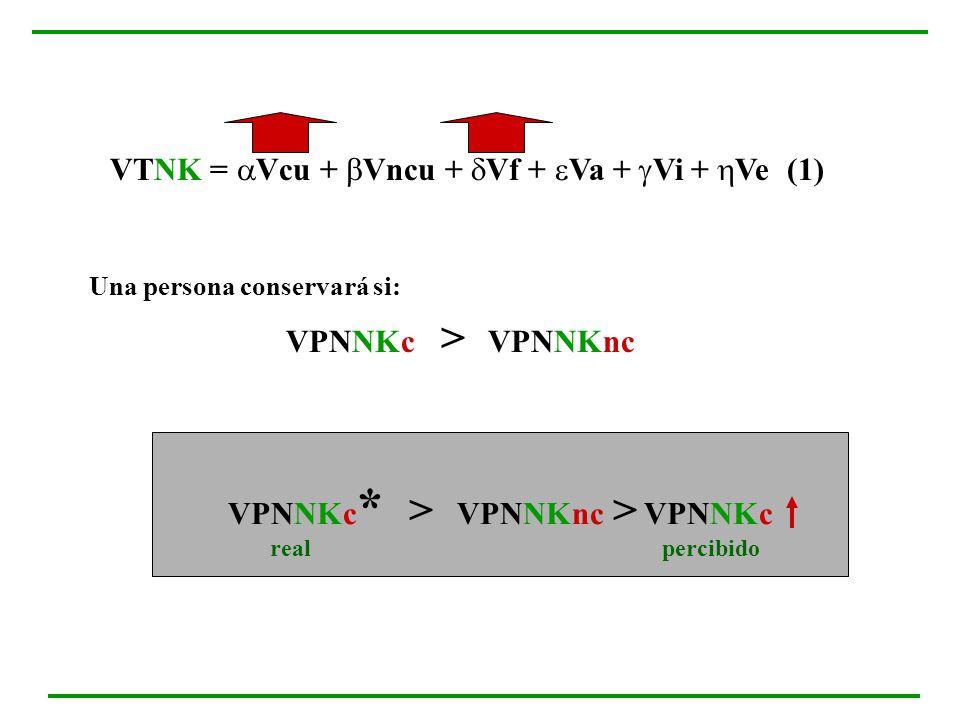 VPNNKc* > VPNNKnc > VPNNKc