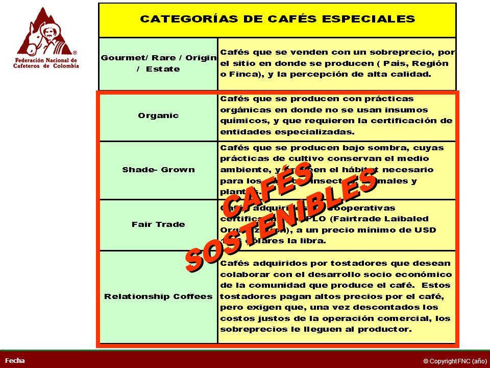 CAFÉS SOSTENIBLES