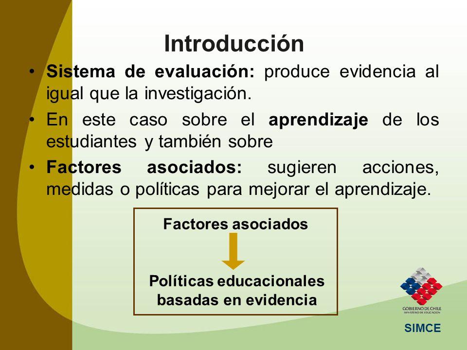 Políticas educacionales basadas en evidencia