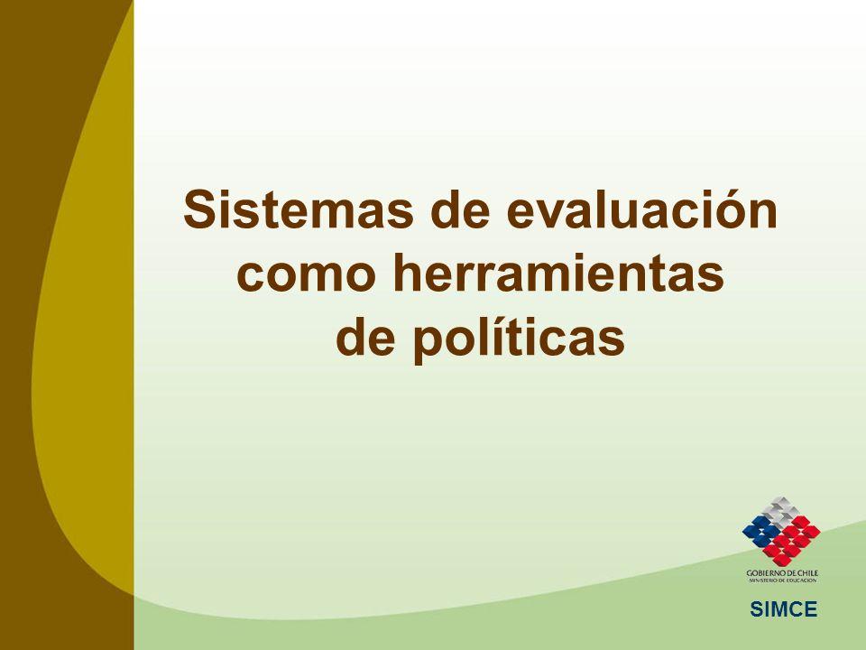 Sistemas de evaluación como herramientas de políticas