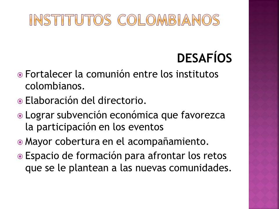 INSTITUTOS COLOMBIANOS