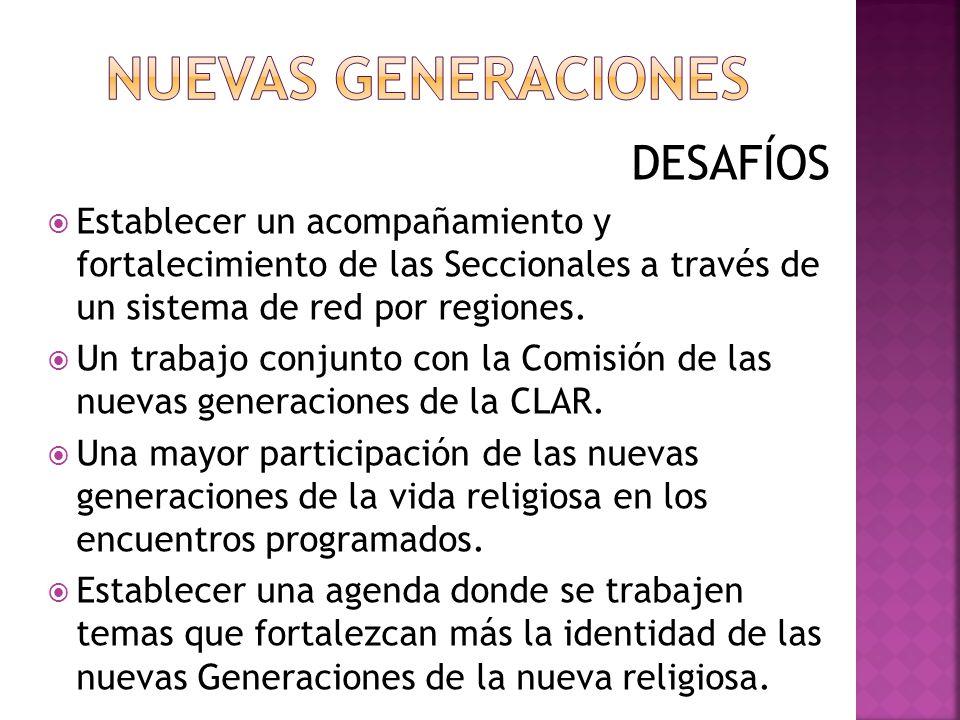 NUEVAS GENERACIONES DESAFÍOS