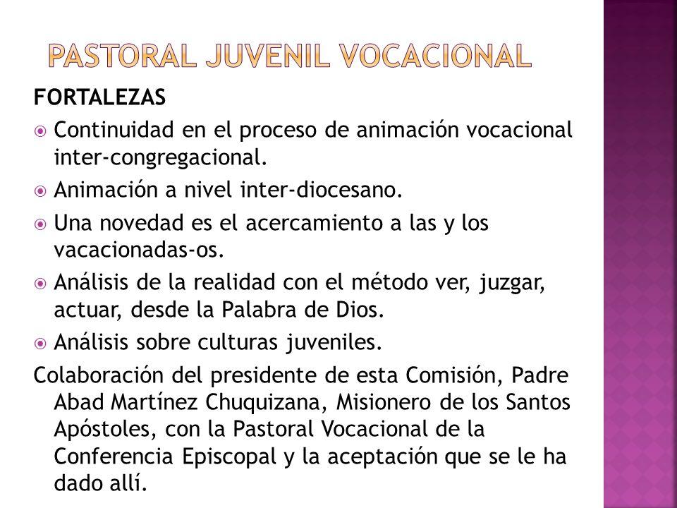 PASTORAL JUVENIL VOCACIONAL