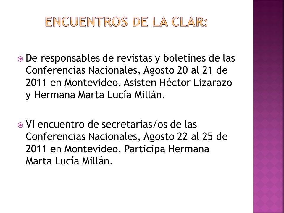 Encuentros de la CLAR: