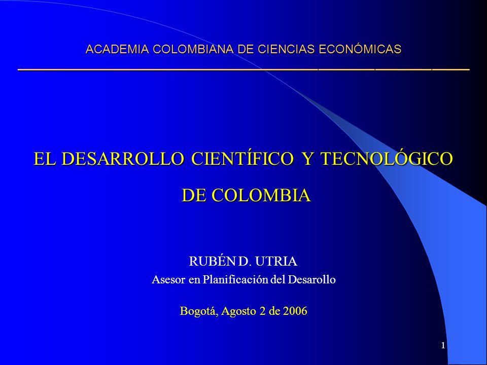ACADEMIA COLOMBIANA DE CIENCIAS ECONÓMICAS ————————————————————————