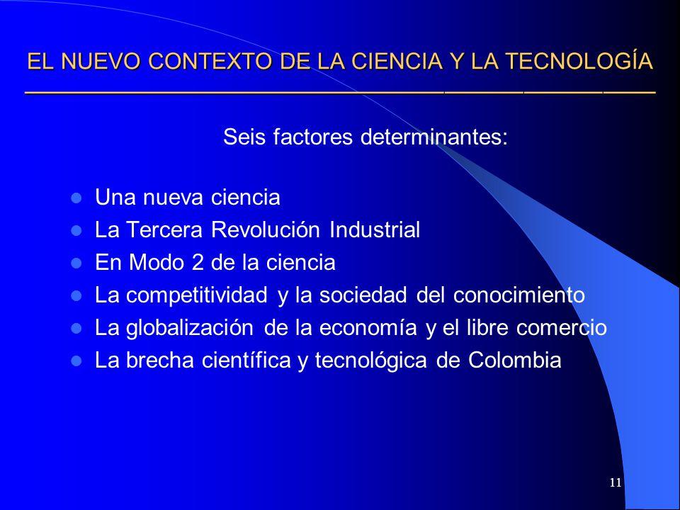 Seis factores determinantes: