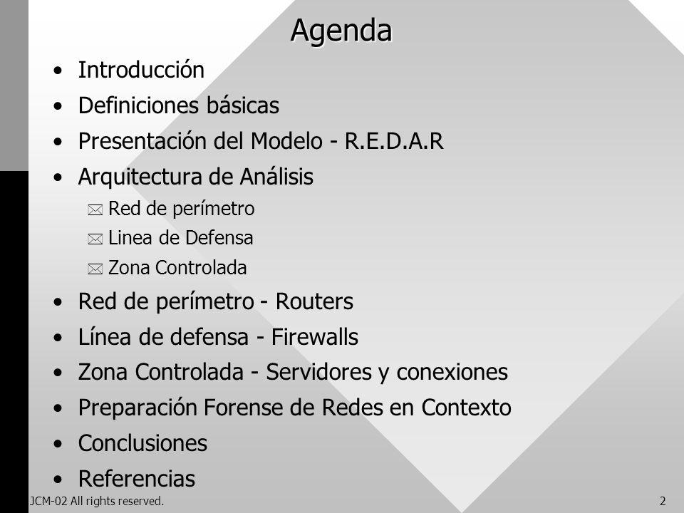 Preparación Forense de Redes - R.E.D.A.R