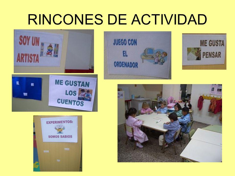 RINCONES DE ACTIVIDAD