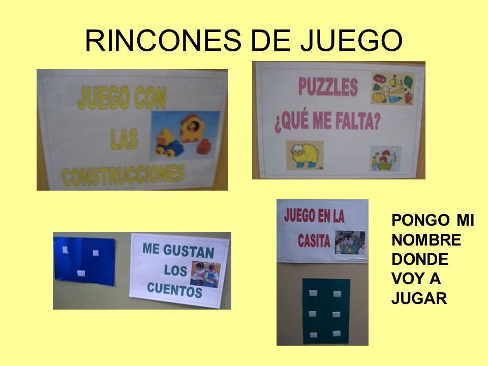 RINCONES DE JUEGO PONGO MI NOMBRE DONDE VOY A JUGAR