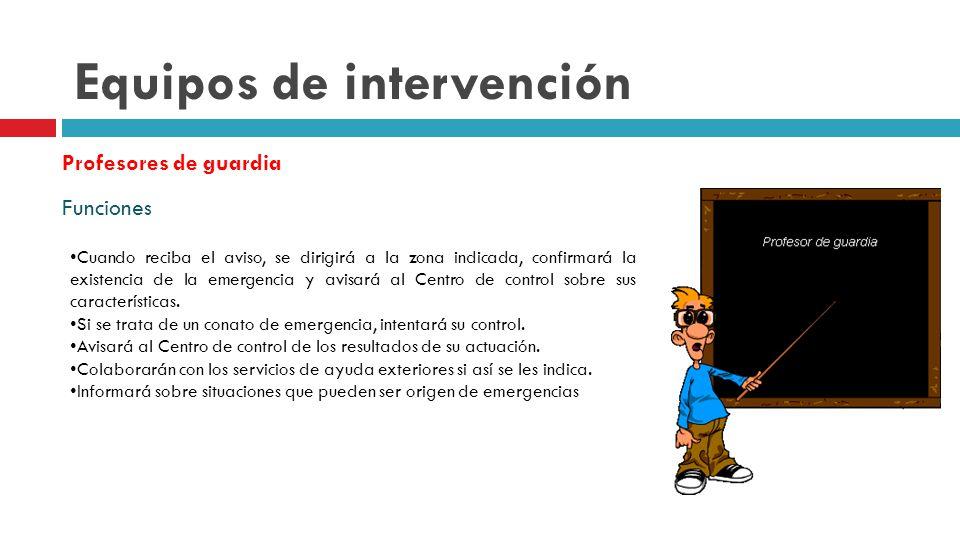Equipos de intervención