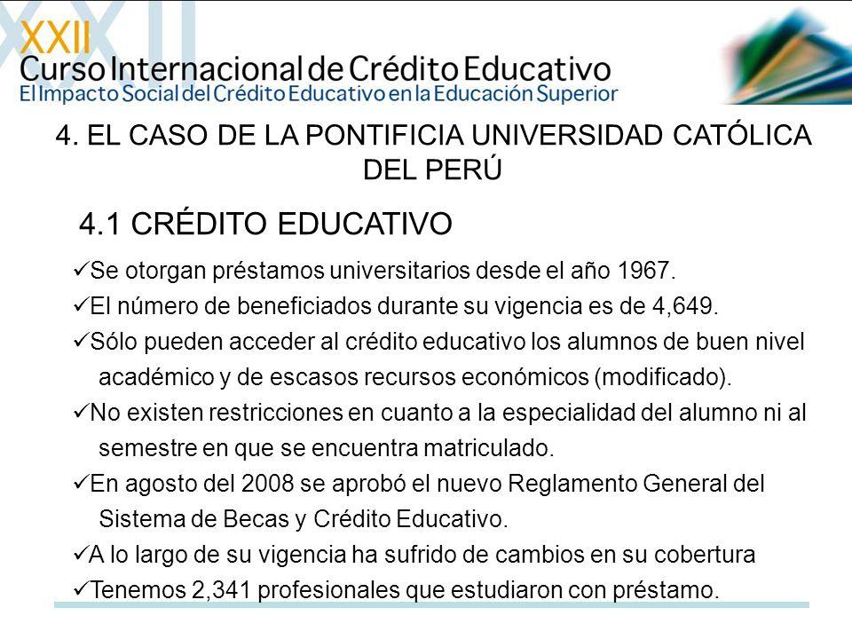 4. EL CASO DE LA PONTIFICIA UNIVERSIDAD CATÓLICA DEL PERÚ