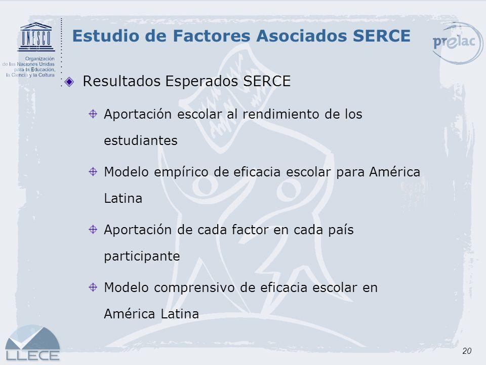 Estudio de Factores Asociados SERCE