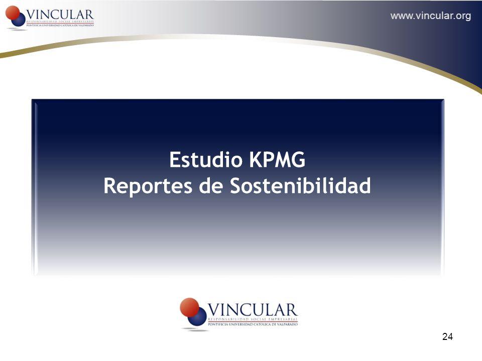 Estudio KPMG Reportes de Sostenibilidad