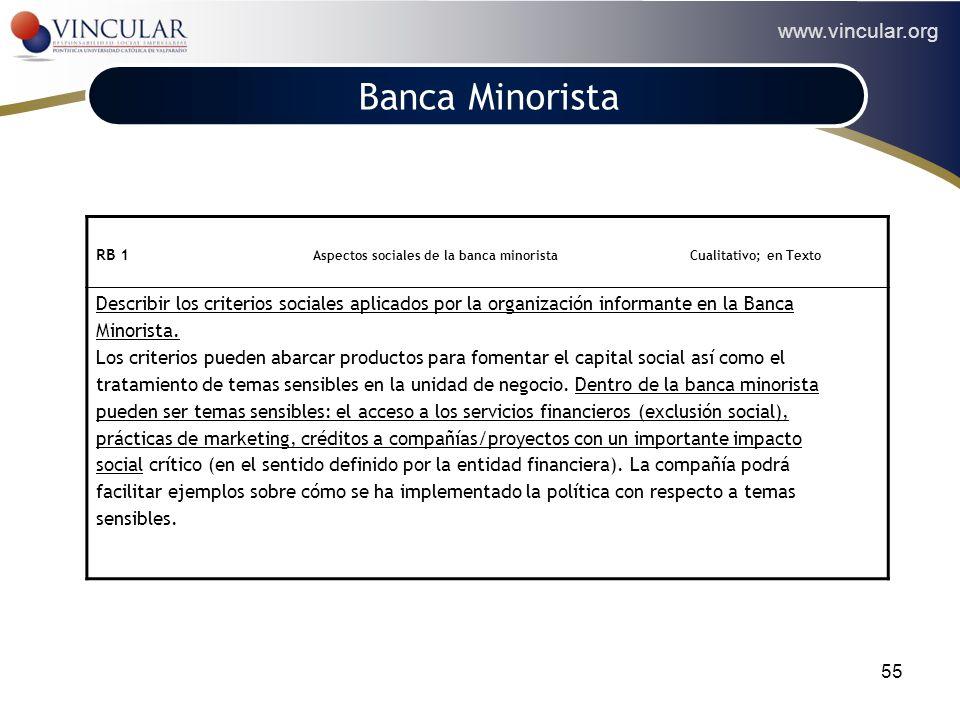 Banca Minorista POLÍTICA.