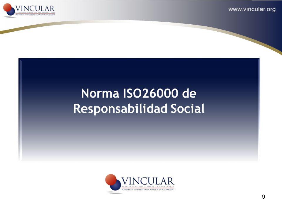 Norma ISO26000 de Responsabilidad Social
