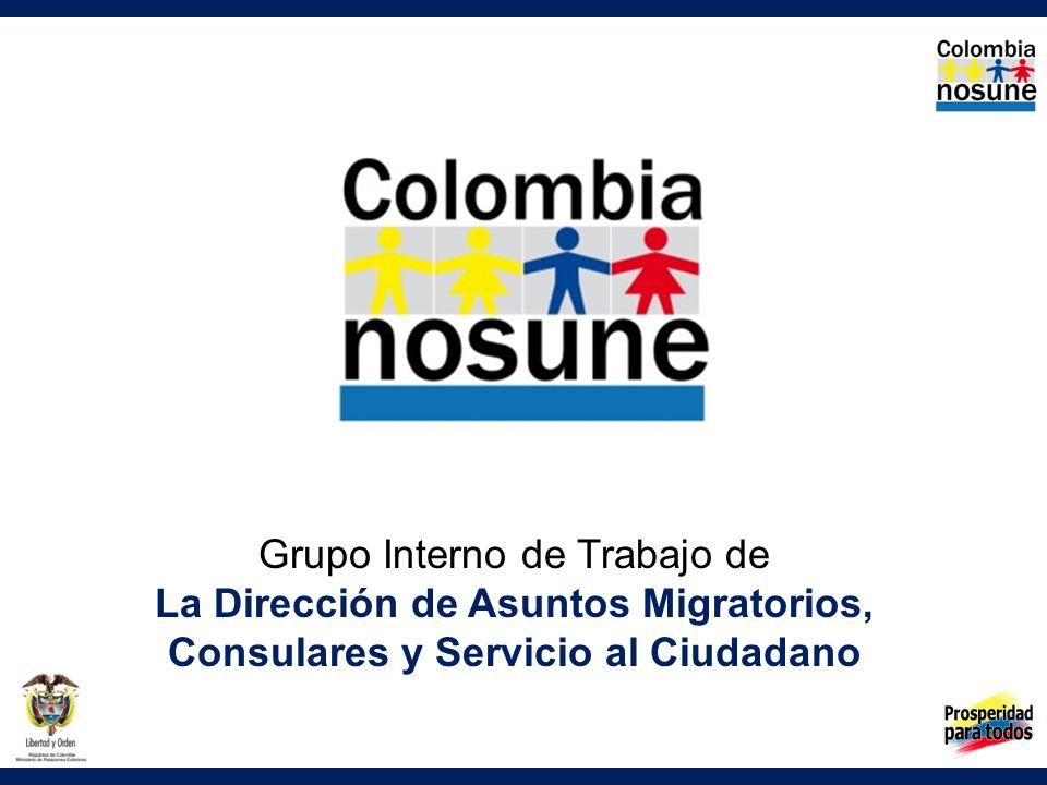 Grupo Interno de Trabajo de La Dirección de Asuntos Migratorios,