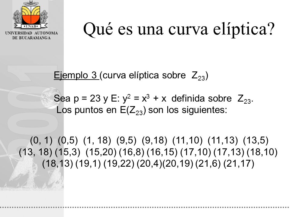 Qué es una curva elíptica