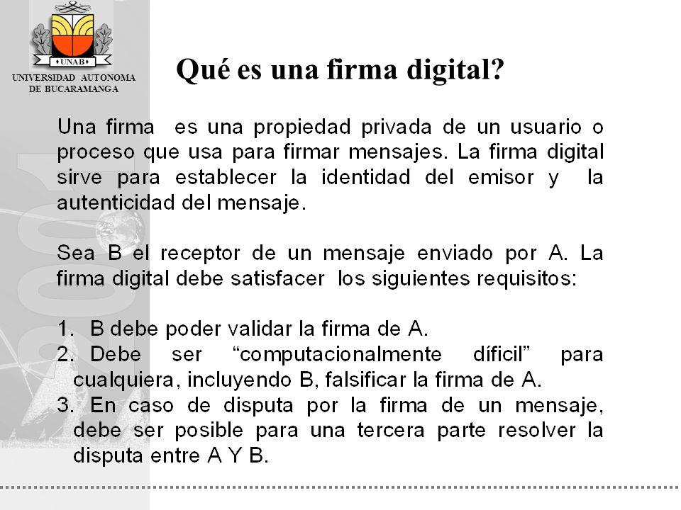 Qué es una firma digital