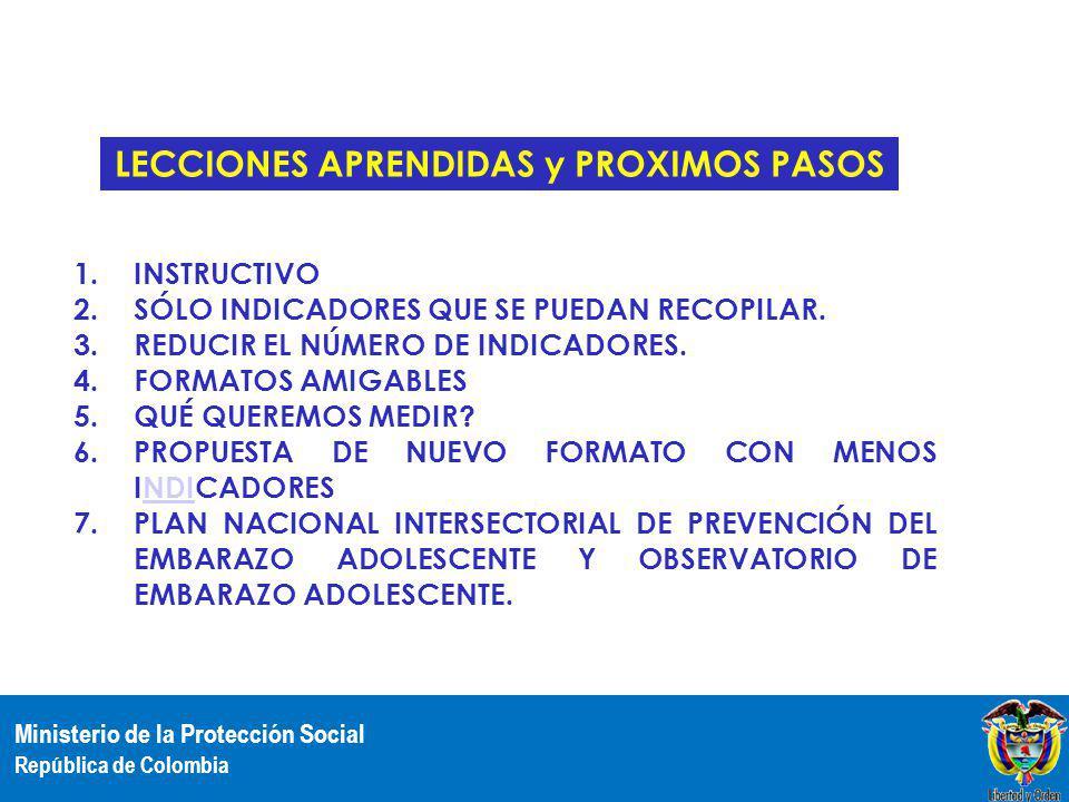 LECCIONES APRENDIDAS y PROXIMOS PASOS