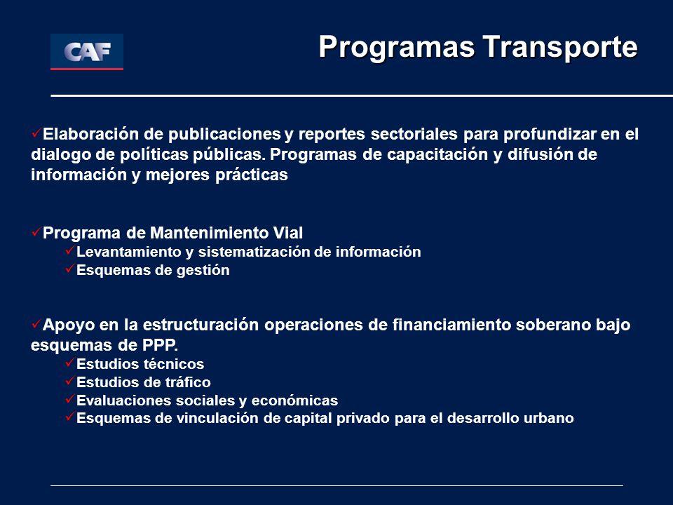 Programas Transporte
