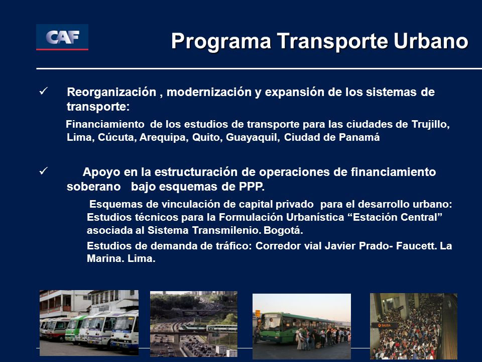 Programa Transporte Urbano