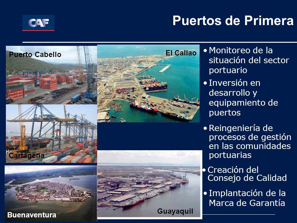 Puertos de Primera Puertos de Primera