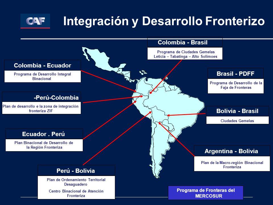 Integración y Desarrollo Fronterizo