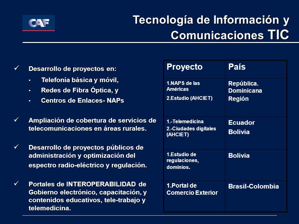 Tecnología de Información y Comunicaciones TIC