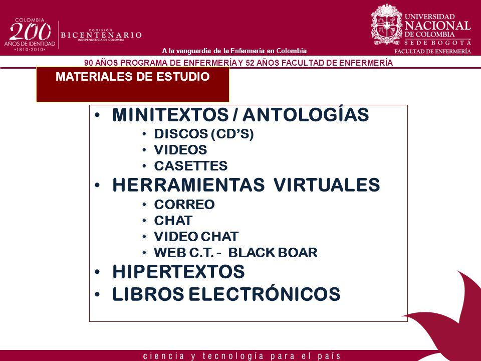 MINITEXTOS / ANTOLOGÍAS