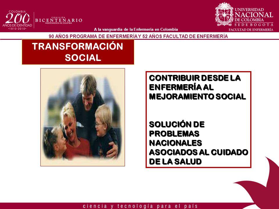 TRANSFORMACIÓN SOCIAL