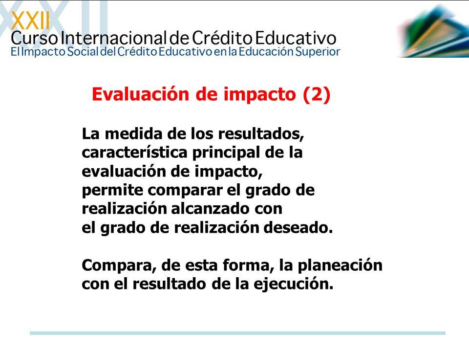Evaluación de impacto (2)